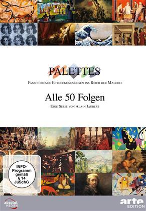 Palettes - Alle 50 Folgen 1-17 (17 DVDs)