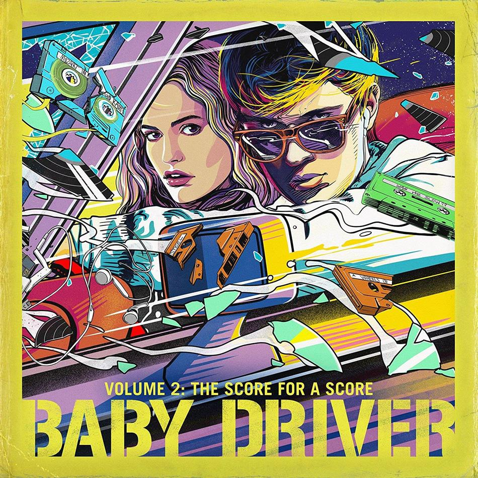 Baby Driver (OST) - Vol. 2: The Score for A Score (LP)