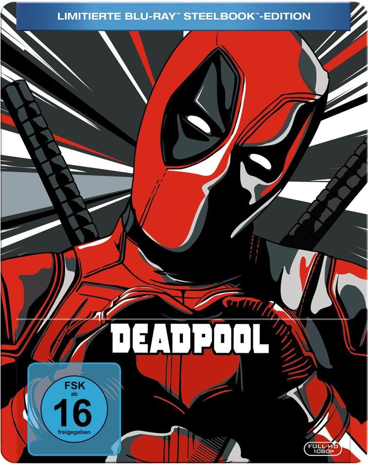 Deadpool (2016) (Limited Edition, Steelbook)