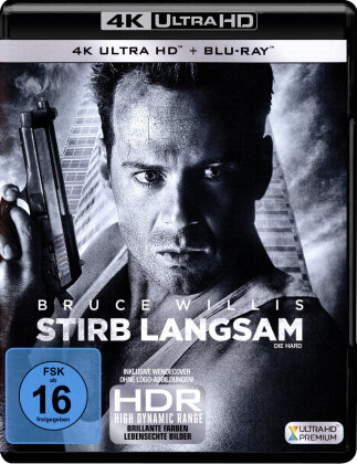 Stirb langsam (1988) (30th Anniversary Edition, 4K Ultra HD + Blu-ray)