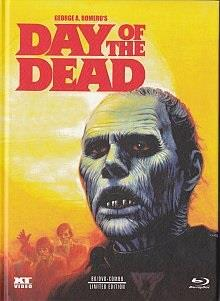 Day of the Dead (1985) (Cover B, Limited Edition, Mediabook, Uncut, Blu-ray + 2 DVDs)