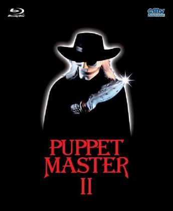 Puppet Master 2 (1990) (Black Edition, Mediabook, Uncut, Blu-ray + DVD)