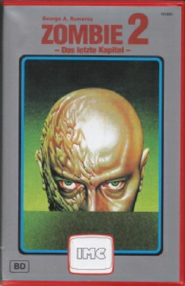Zombie 2 - Das letzte Kapitel (1985) (VHS Box, IMC Redbox, Limited Edition, Uncut)