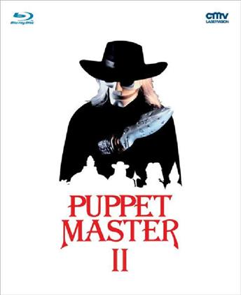 Puppet Master 2 (1990) (White Edition, Limited Edition, Mediabook, Uncut, Blu-ray + DVD)