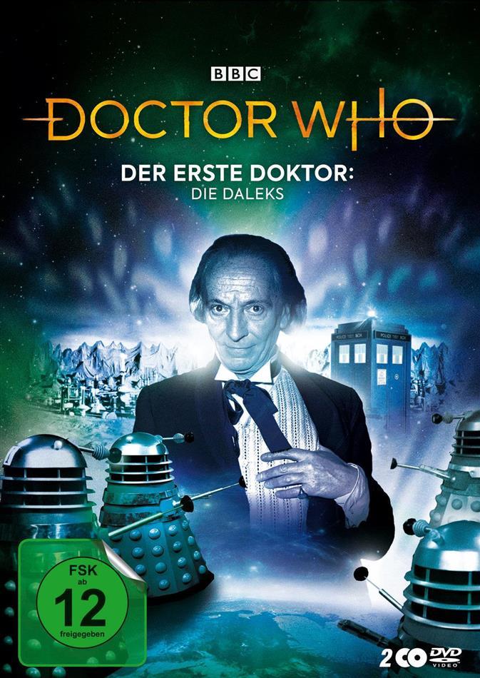 Doctor Who - Der Erste Doktor: Die Daleks (Digipack, 2 DVDs)