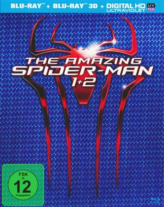 Amazing Spider-Man / The Amazing Spider-Man 2 (2 Blu-ray 3D (+2D) + 2 Blu-rays)