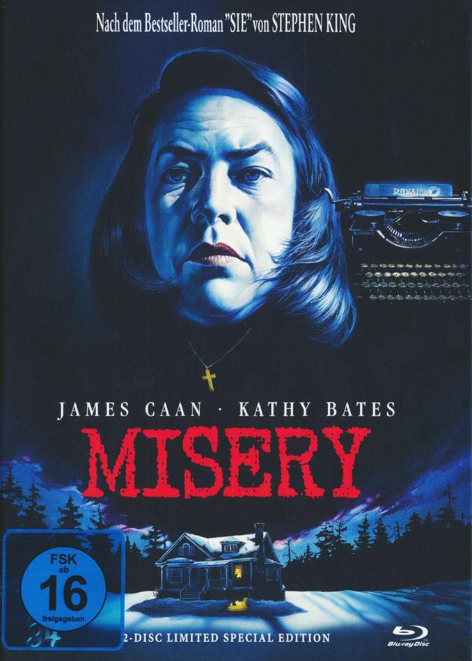 Misery (1990) (Mediabook, Blu-ray + DVD)