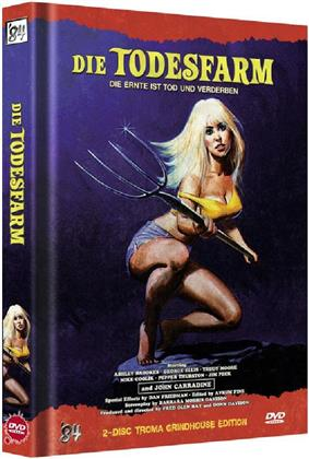 Die Todesfarm (1971) (Cover B, Troma Grindhouse Edition, Limited Edition, Mediabook, Uncut, 2 DVDs)