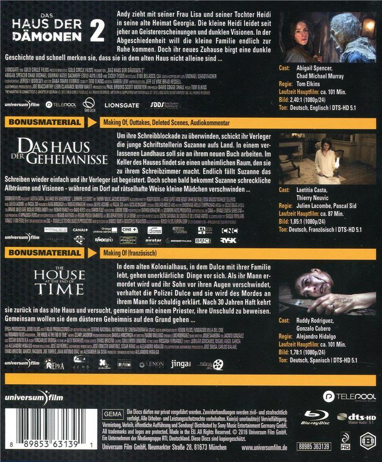 Das Haus Der Damonen 2 Das Haus Der Geheimnisse The House At The End Of Time 3 Blu Ray Cede Com