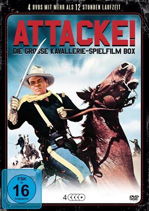 Attacke! - Die grosse Kavallerie-Spielfilm Box (4 DVDs)
