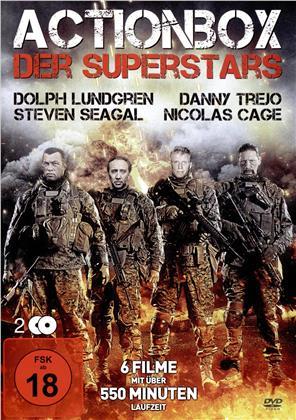 Actionbox der Superstars - 6 Filme (2 DVDs)
