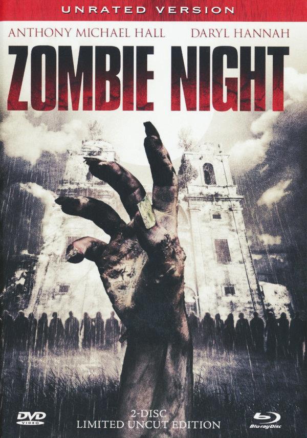 Zombie Night (2013) (Mediabook, Uncut, Blu-ray 3D (+2D) + DVD)