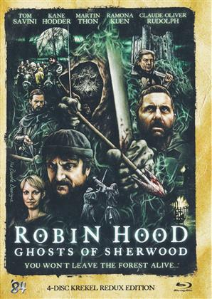 Robin Hood - Ghosts of Sherwood (Mediabook, Blu-ray 3D (+2D) + DVD + CD)