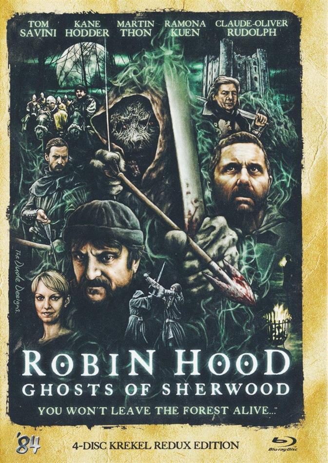 Robin Hood - Ghosts of Sherwood (Mediabook, Blu-ray 3D (+2D) + DVD + CD)