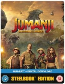 Jumanji - Welcome To The Jungle (2017) (Steelbook)
