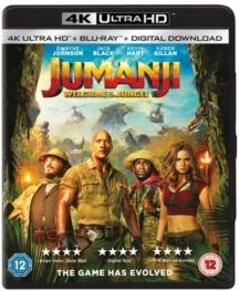 Jumanji - Welcome To The Jungle (2017) (4K Ultra HD + Blu-ray)