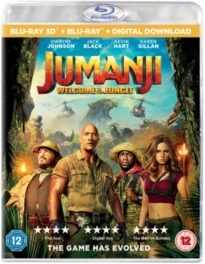 Jumanji - Welcome To The Jungle (2017) (Blu-ray 3D + Blu-ray)