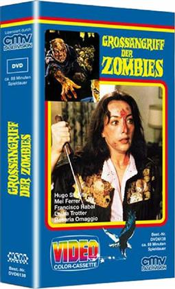 Grossangriff der Zombies (1980) (VHS Box, Cover A, Limited Edition, Uncut)
