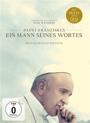 Papst Franziskus - Ein Mann seines Wortes (2018) (DVD + Buch)