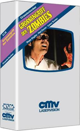 Grossangriff der Zombies (1980) (VHS Box, Cover B, Limited Edition, Uncut)