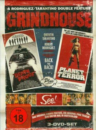 Grindhouse - Death Proof + Planet Terror (2007) (Limited Edition, Uncut, 3 DVDs)