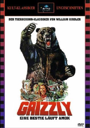 Grizzly - Eine Bestie läuft Amok (1976) (Cover A, Kult-Klassiker Ungeschnitten, Limited Edition, Uncut)