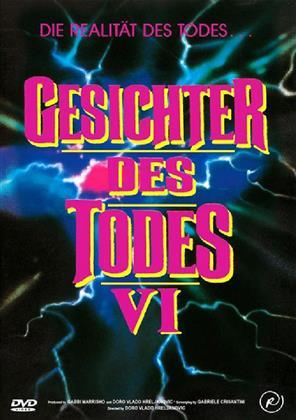 Gesichter des Todes 6 (1996) (Kleine Hartbox, Cover A, Uncut)