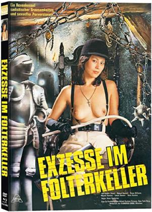 Exzesse im Folterkeller (1979) (Cover B, Limited Edition, Mediabook, Uncut, Blu-ray + DVD)