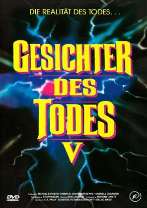 Gesichter des Todes 5 (1991) (Kleine Hartbox, Cover A, Uncut)