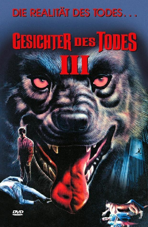 Gesichter des Todes 3 (1985) (Grosse Hartbox, Cover B, Limited Edition, Uncut)