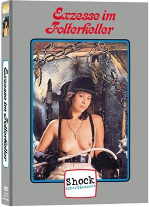 Exzesse im Folterkeller (1979) (Cover A, Limited Edition, Mediabook, Uncut, Blu-ray + DVD)