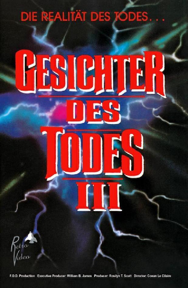 Gesichter des Todes 3 (1985) (Grosse Hartbox, Cover A, Limited Edition, Uncut)