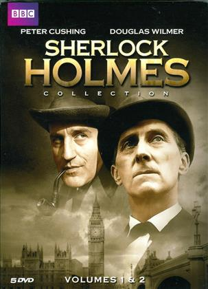 Sherlock Holmes Collection - Vol.1 & 2 (BBC, 5 DVDs)
