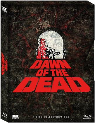 Dawn of the Dead (1978) (Schuber, Digipack, Collector's Edition, Limited Edition, 4 Blu-rays)