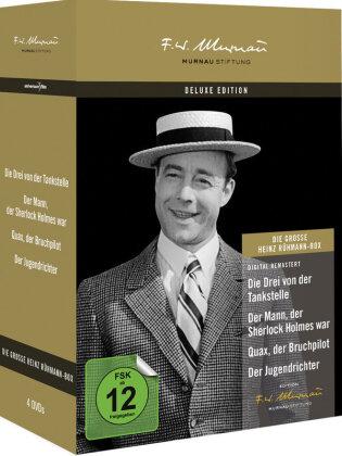 Die grosse Heinz Rühmann Box (Deluxe Edition, 4 DVDs)