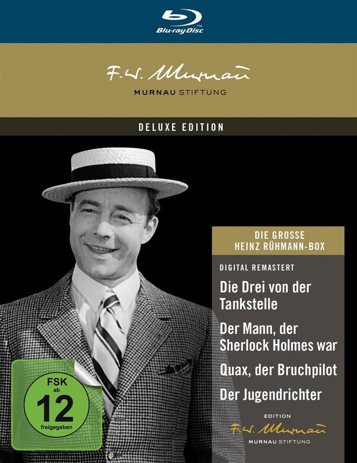 Die grosse Heinz Rühmann Box (Deluxe Edition, 4 Blu-rays)