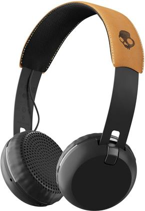 Skullcandy Grind Wireless On-Ear - Headphones (black/tan)