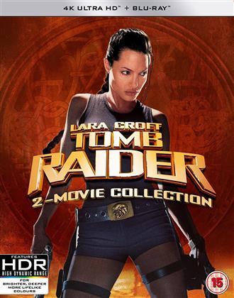 Lara Croft - Tomb Raider - 2-Movie Collection (2 4K Ultra HDs + 2 Blu-rays)