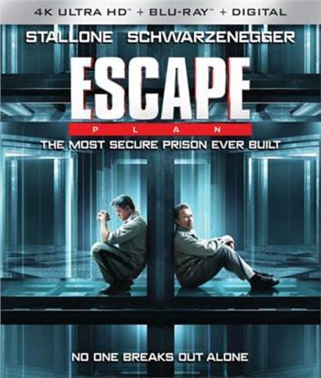 Escape Plan (2013) (4K Ultra HD + Blu-ray)