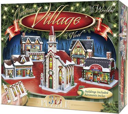 Weihnachtsdorf - 116 Teile