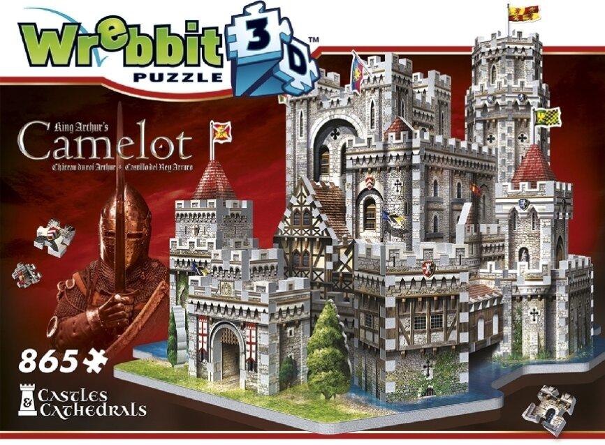 Camelot zu Artus Tafelrunde / Camelot Castle - 865 Teile Puzzle