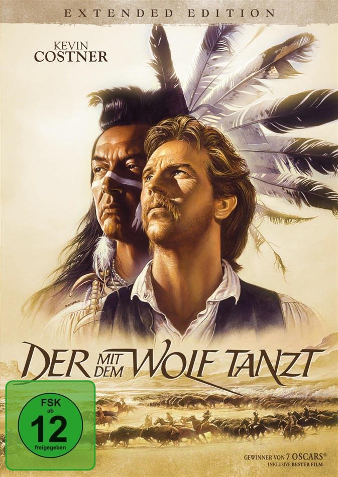 Der mit dem Wolf tanzt (1990) (Extended Edition, 2 DVDs)