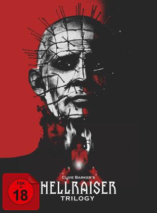 Hellraiser Trilogy (Digipack, Collector's Edition, Uncut, 5 DVDs)