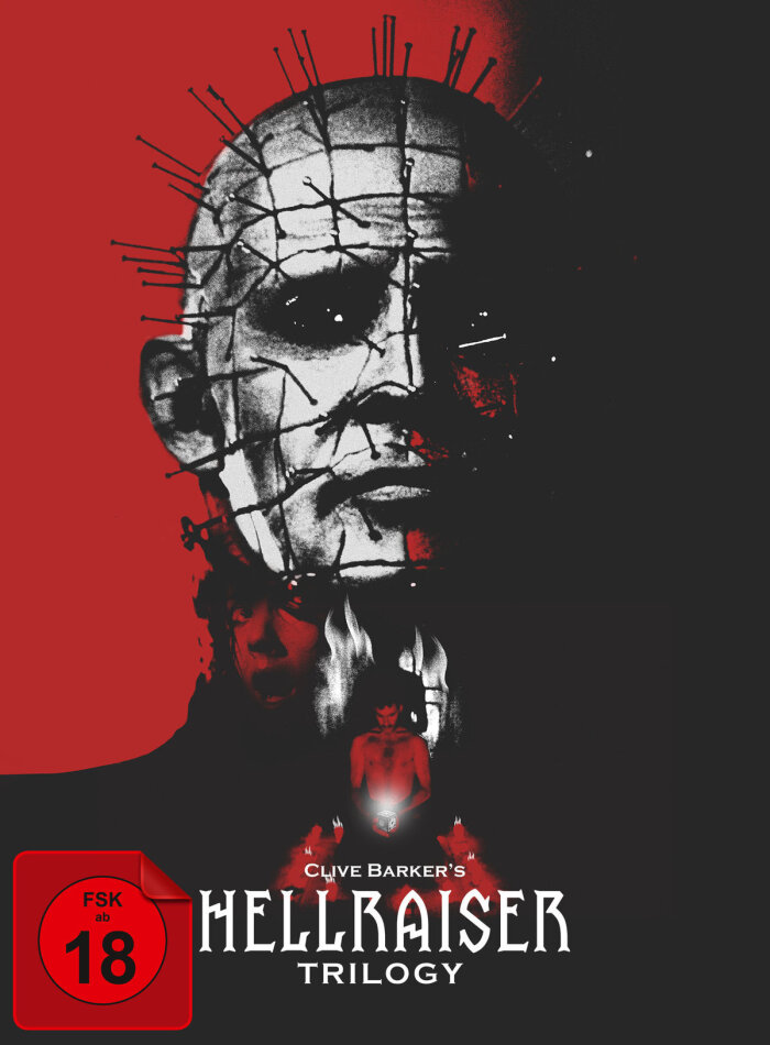 Hellraiser Trilogy (Digipack, Collector's Edition, Uncut, 5 DVDs)