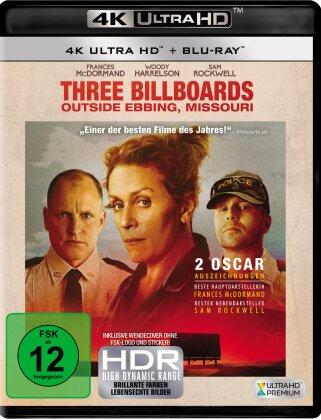Three Billboards Outside Ebbing, Missouri (2017) (4K Ultra HD + Blu-ray)