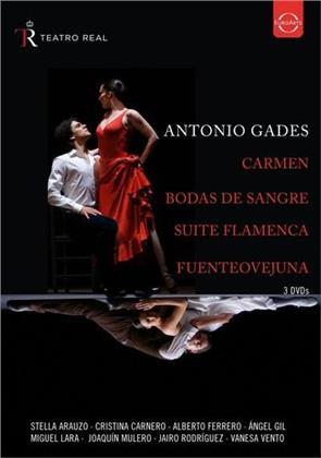Antonio Gades - Carmen / Bodas de sangre / Suite flamenca / Fuenteovejuna (Euro Arts)
