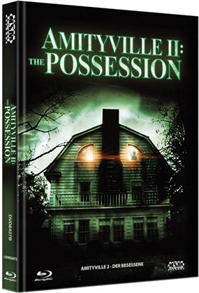 Amityville 2 - The Possession (1982) (Cover B, Collector's Edition, Limited Edition, Mediabook, Blu-ray + DVD)