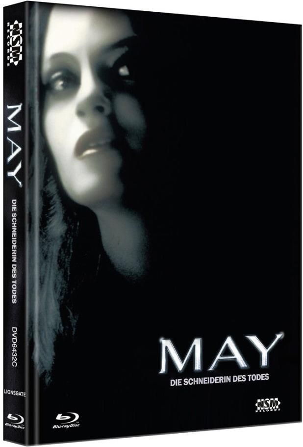 May - Die Schneiderin des Todes (2002) (Cover C, Collector's Edition, Limited Edition, Mediabook, Blu-ray + DVD)