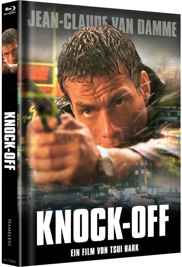 Knock-Off (1998) (Cover Original, Limited Edition, Mediabook, Uncut, Blu-ray + DVD)