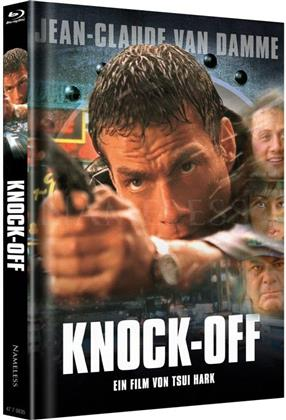 Knock Off (1998) (Cover VHS, Limited Edition, Mediabook, Uncut, Blu-ray + DVD)